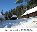 winter house | Shutterstock . vector #72232006