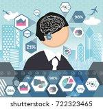 business minds | Shutterstock .eps vector #722323465