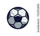 soccer ball icon | Shutterstock .eps vector #722331865