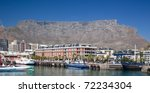 Cape Town Waterfront With Tabl...