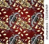 vector traditional orient... | Shutterstock .eps vector #722356969