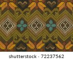 Ornate Cotton Weave Background