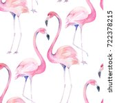 watercolor seamless pattern... | Shutterstock . vector #722378215