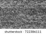 brick wall texture background | Shutterstock . vector #722386111