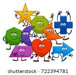 cartoon vector illustration of... | Shutterstock .eps vector #722394781