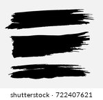 grunge paint stripe . vector... | Shutterstock .eps vector #722407621