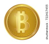cryptocurrency bitcoin | Shutterstock .eps vector #722417455