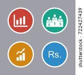 business icons set | Shutterstock .eps vector #722427439