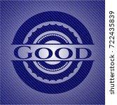 good denim background | Shutterstock .eps vector #722435839
