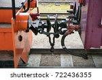 couple wagons | Shutterstock . vector #722436355