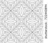 geometrical seamless pattern.... | Shutterstock .eps vector #722443894