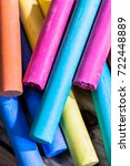 close up colorful pastel colors ... | Shutterstock . vector #722448889