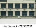 old school building | Shutterstock . vector #722453797