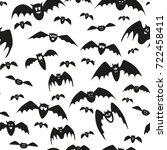 texture for halloween | Shutterstock . vector #722458411