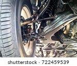 pickup car independent... | Shutterstock . vector #722459539