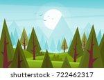 cartoon wood. vector...   Shutterstock .eps vector #722462317