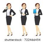 businesswoman set | Shutterstock .eps vector #722466454