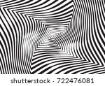 abstract twisted background.... | Shutterstock .eps vector #722476081