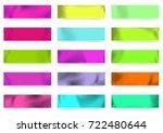 bright modern retro style... | Shutterstock .eps vector #722480644