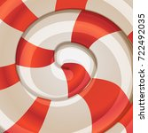 abstract spiral background.... | Shutterstock .eps vector #722492035