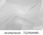 abstract twisted background.... | Shutterstock .eps vector #722504485