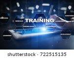 training and development... | Shutterstock . vector #722515135