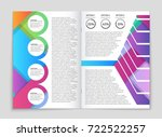 abstract vector layout... | Shutterstock .eps vector #722522257