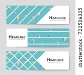 abstract vector layout... | Shutterstock .eps vector #722526325