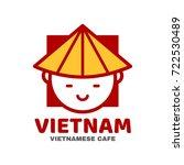 vietnam logo template design.... | Shutterstock . vector #722530489