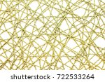 green mesh rope on a white... | Shutterstock . vector #722533264