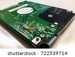 hard disk | Shutterstock . vector #722539714