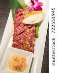 Small photo of wagyu beef chuck steak Japanese meat BBQ yakiniku