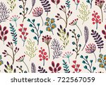 vector seamless pattern with... | Shutterstock .eps vector #722567059