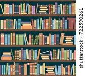Bookshelves Full Of Books Both...