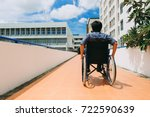 people with disabilities can... | Shutterstock . vector #722590639