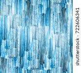 patterns blue watercolour... | Shutterstock . vector #722606341