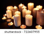 mourning and commemoration...   Shutterstock . vector #722607955