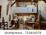 granville island  vancouver ...   Shutterstock . vector #722614279