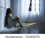 portrait of beautiful young... | Shutterstock . vector #72264274
