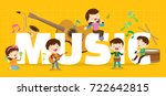 Play Music Concept Of Children...