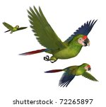 3d render depicting three... | Shutterstock . vector #72265897