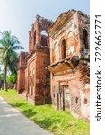 Small photo of Ruined house in historic city Panam (Panam Nagor), Bangladesh
