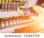 current measurement for... | Shutterstock . vector #722667724