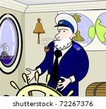 old captain | Shutterstock .eps vector #72267376
