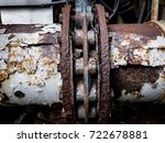 rust and corrosion in the weld...
