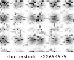 halftone black and white.... | Shutterstock .eps vector #722694979