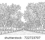 adult coloring page book  a... | Shutterstock .eps vector #722723707