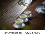 china tea | Shutterstock . vector #722757697