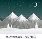 mountains background | Shutterstock . vector #7227886