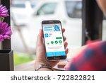 chiang mai  thailand  ... | Shutterstock . vector #722822821